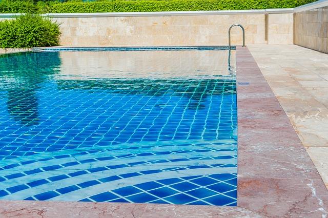 modrá voda