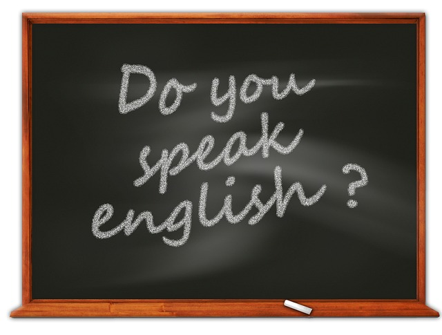 anglická věta