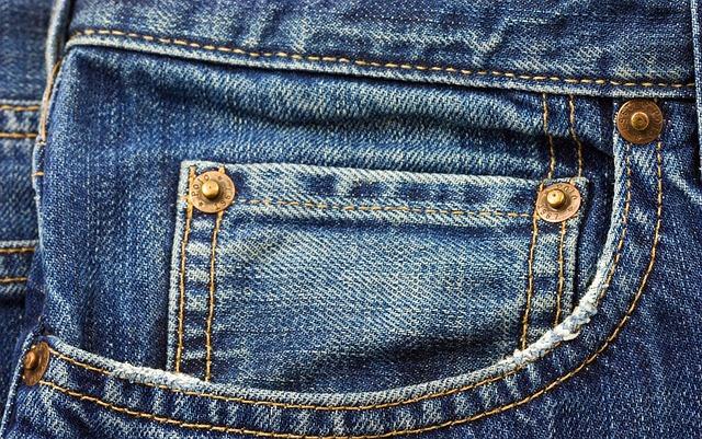 Džíny, kapsa, móda